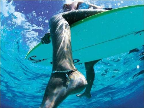 underwater leg